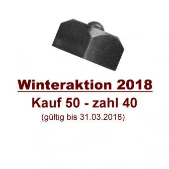 Aufschw.stollen 20f - Winteraktion