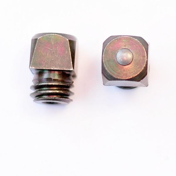 Stollen W12, 12x12 mm, Kopf 10 hoch, Stift (No.9SB / St.)